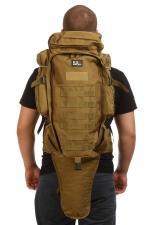 Такт. рюкзак 9.11 (хаки-песок) с чехлом для ружья (MULTICAM)