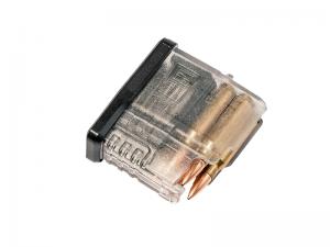 Магазин САЙГА-308, к. 7,62х51 мм., прозрачный, 5 мест,  PUFGUN