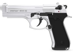 .Пистолет охолощенный Retay MOD 92 (Beretta, 9mm) Хром