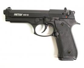 Охолощенный СХП пистолет Retay MOD92 (Beretta) 9mm P.A.K,чёрный