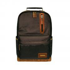 Рюкзак городской Aquatic Р-26ТКРД цвет темно-коричневый, рыжее дно